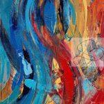 La vie en bleu 16X20-T1503